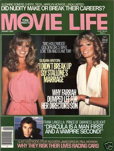 Farrah Fawcett - Movie Life Magazine [United States] (January 1980)