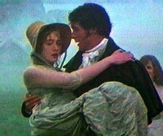 Sense and Sensibility Kate Winslet  as Marianne Daswood and Greg Wise as John Willoughby in  (1995)