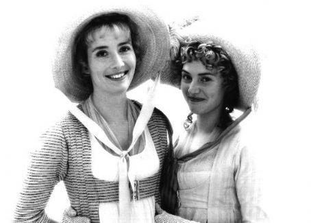 Sense and Sensibility Kate Winslet as Marianne Dashwood and Emma Thompson as Elinor Dashwood in  (1995)