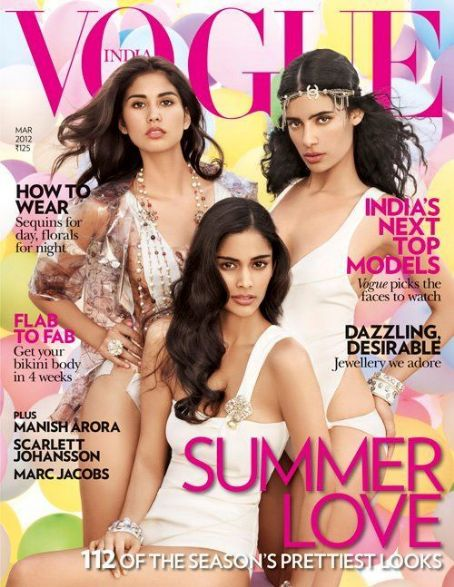 Vogue Magazine Cover [India] (March 2012)
