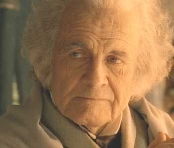 Ian Holm The Lord of the Rings: The Fellowship of the Ring