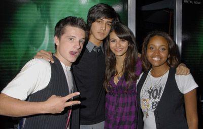 Victoria Justice , Avan Jogia, Josh Hucherson and Andrea Lewis