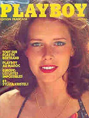 Sylvia Kristel - Playboy Magazine Cover [France] (May 1979)