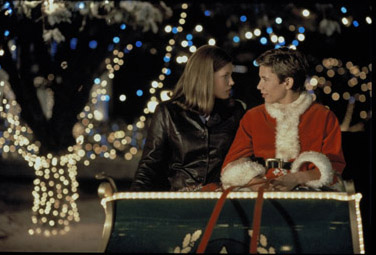 Jessica Biel and Jonathan Taylor Thomas in Disney's I'll Be Home For Christmas - 1998