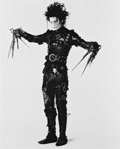 Edward Scissorhands Johnny Depp In  (1990)