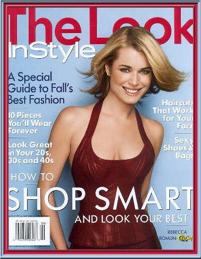 Rebecca Romijn - Instyle Your Look Magazine Cover [United States] (October 2001)