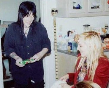Robbie Mantooth  and Mick Mars