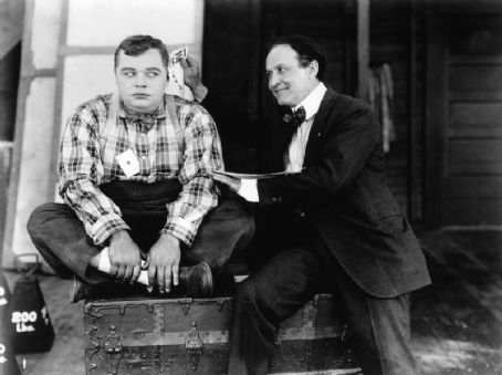 Harry Houdini  with Roscoe Arbuckle