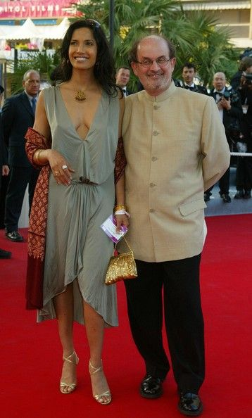 Padma Lakshmi  and Salman Rushdie