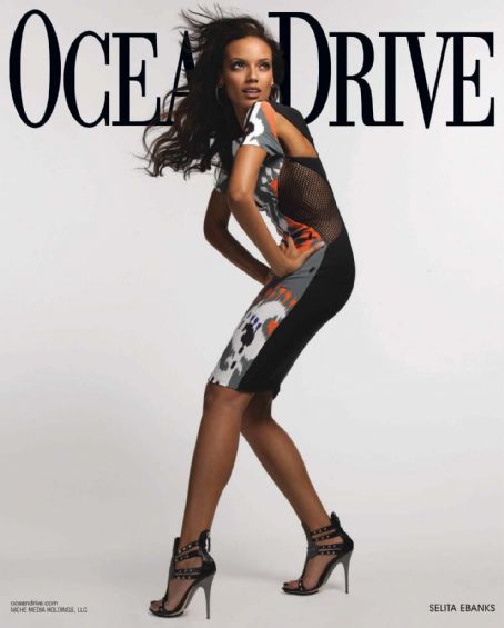 Selita Ebanks - Ocean Drive Magazine [United States] (March 2010)