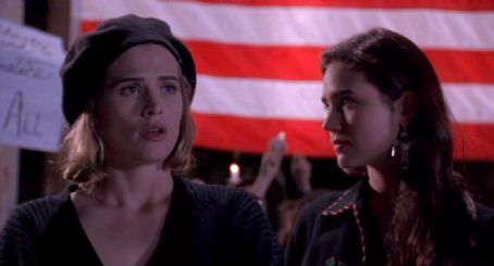 Higher Learning Jennifer Connelly and Kristy Swanson