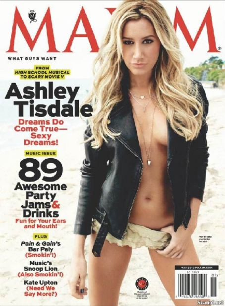 Ashley Tisdale Maxim US May 2013
