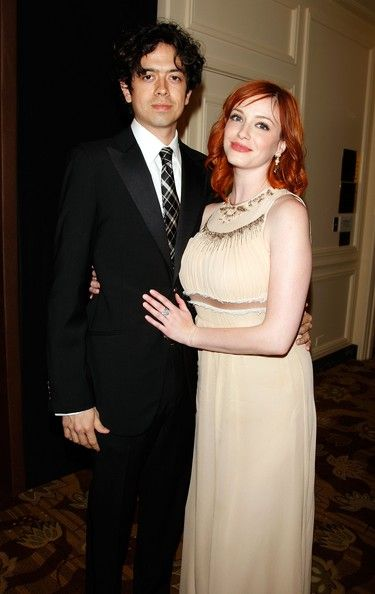 Christina Hendricks Geoffrey Arend and