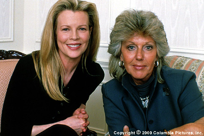 I Dreamed of Africa Kim Basinger (left) stars as Kuki Gallmann (right), whose brave move to Africa inspired her passion for wildlife conservation, in Columbia's I Dreamed Of Africa - 2000