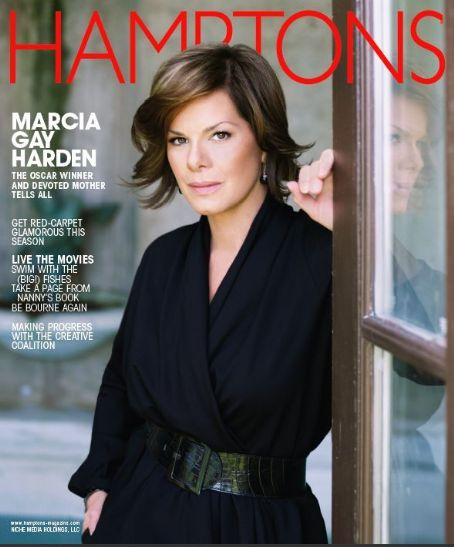Marcia Gay Harden - Hamptons Magazine Cover [United States] (October 2007)