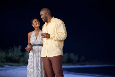 Dianne (Sharon Leal) and Terry (Tyler Perry) in TYLER PERRY'S WHY DID I GET MARRIED TOO?. Photo credit: Quantrell Colbert