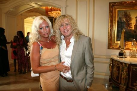 Rick Savage with wife Paige