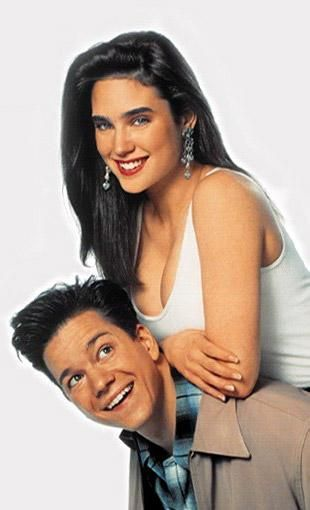 Frank Whaley  with Career Opportunities costar Jennifer Connelly