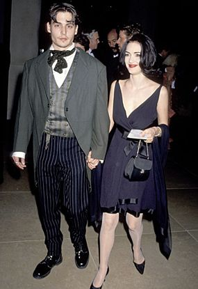 Edward Scissorhands Johnny Depp and Winona Ryder