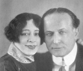 Harry Houdini  and wife, Betrice