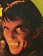 Jonathan Frid  as Barnabas on front cover of a Marilyn Ross paperback