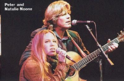 Natalie and Peter Noone