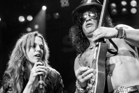 Lzzy Hale  & Slash