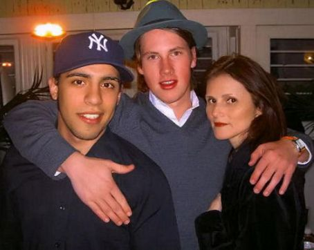 John Robinson - Me with John & Victor Rasuk at a private memorial for Heath Ledger at director Catherine Hardwickes home.