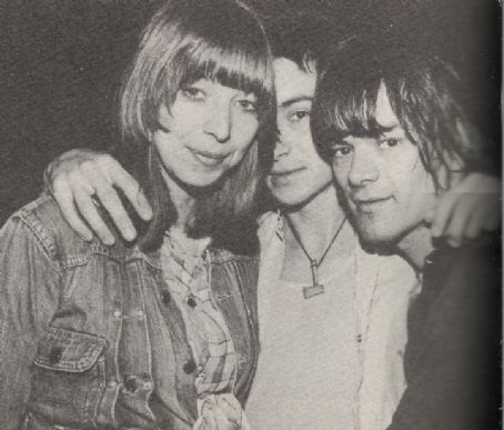 Connie Gripp 1976 - , Arturo Vega, and Dee Dee Ramone