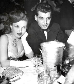Beverly Tyler  and Rory Calhoun