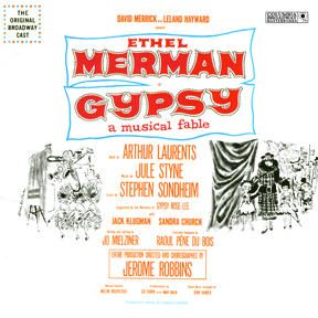 Goddard Lieberson - Gypsy 1959 Broadway Cast Starring Ethel Merman