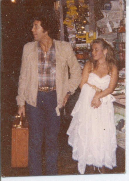 Tom Jones  & actress / author Charlotte Laws