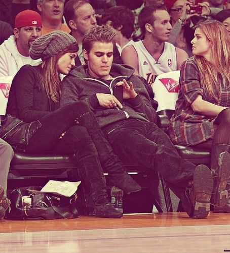 Torrey DeVitto - Torrey Devitto and Paul Wesley