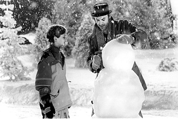 Jack Frost Joseph Cross and Michael Keaton in Warner Brothers'  - 1998
