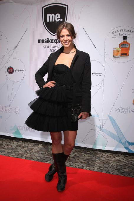 Jessica Schwarz - Musikexpress Style Award at Palais in der Kulturbrauerei on October 18, 2010 in Berlin, Germany