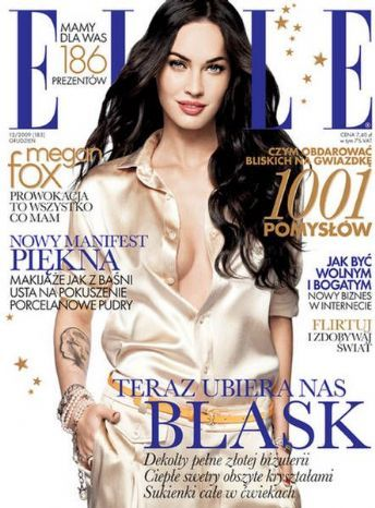 Megan Fox - Elle Magazine [Poland] (December 2009)