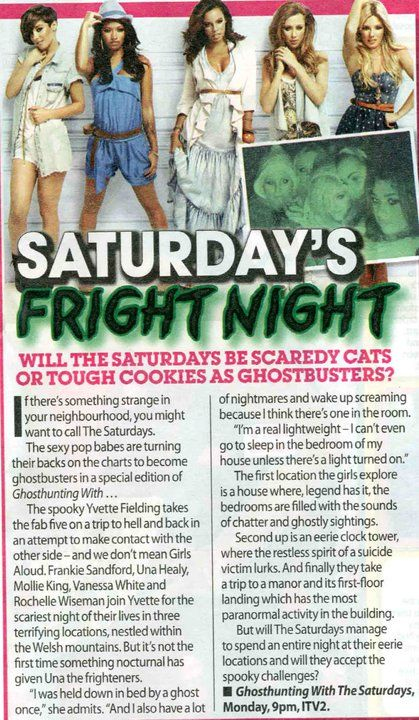 Una Healy - The Saturdays Magazine scans and shoots