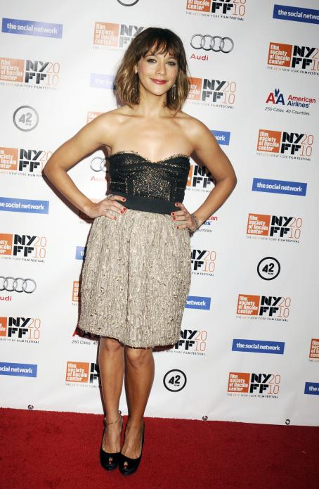 The Social Network Rashida Jones - Premiere Of '' During The 48 New York Film Festival At Alice Tully Hall, Lincoln Center On September 24, 2010 In New York City