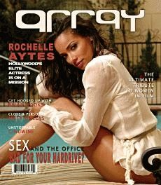 Rochelle Aytes  - array magazine cover