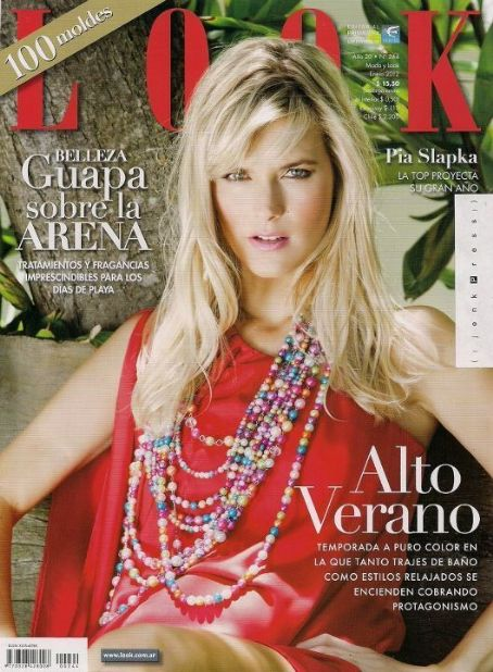 Look Magazine Cover [Argentina] (January 2012)
