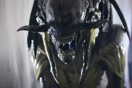 AVPR: Aliens vs Predator - Requiem The PredAlien in Aliens vs Predator- Requiem. Photo credit: James Dittiger.