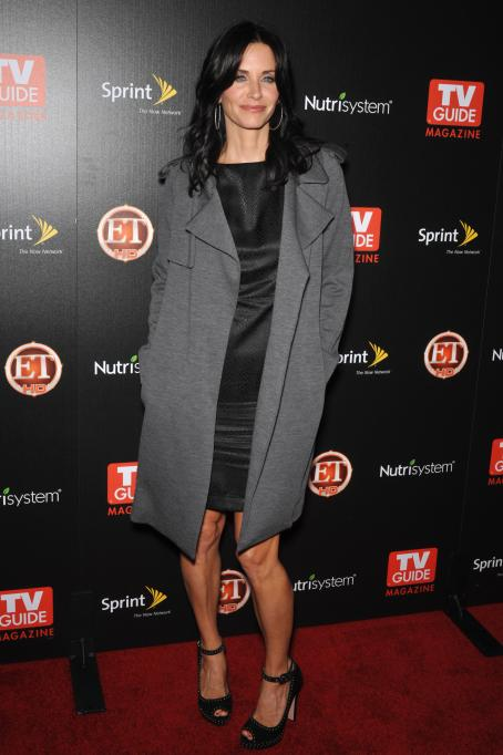 Courteney Cox - TV GUIDE Magazine's Hot List Party At SLS Hotel On November 10, 2009 In Beverly Hills, California