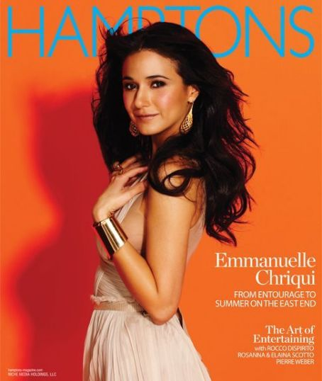 Emmanuelle Chriqui - Hamptons Magazine Cover [United States] (August 2011)