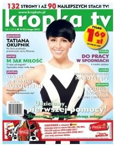 Tatiana Okupnik - Kropka Tv Magazine Cover [Poland] (17 February 2012)
