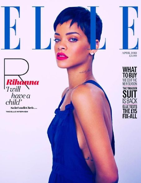 Rihanna Elle UK April 2013