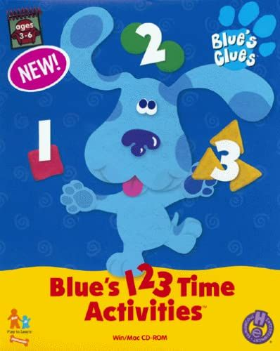 Blue's 1 2 3 Time Activities