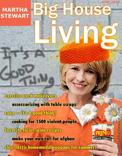 Martha Stewart  - SPOOF magazine cover