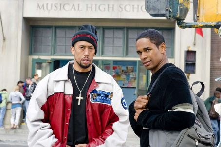 Affion Crockett A-Con (, left) and his buddy Thomas (Damon Wayans, Jr., right) in the comic spoof 'Dance Flick.' Photo Credit: Glen Wilson. Copyright ©2009 by PARAMOUNT PICTURES CORPORATION. All Rights Reserved.