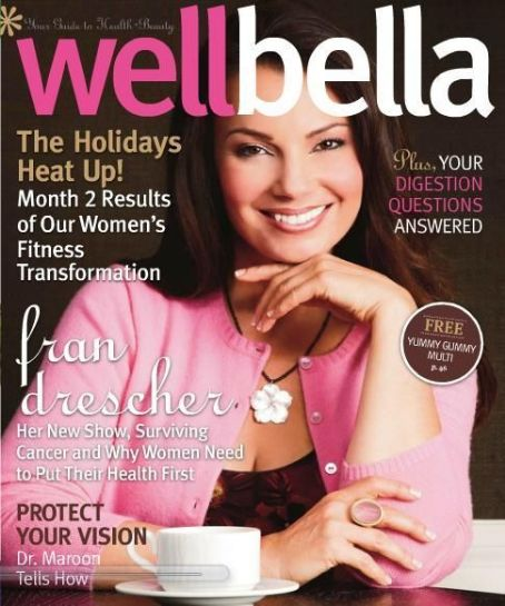 Fran Drescher - Wellbella Magazine Cover [United States] (December 2011)