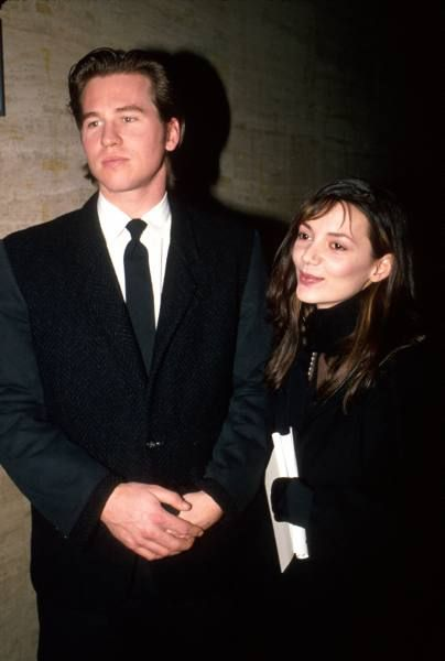 Joanne Whalley  and Val Kilmer